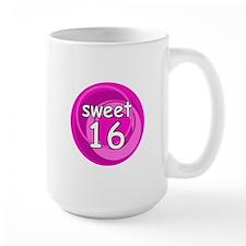 Pink Sweet 16 Mug