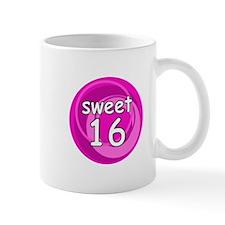 Pink Sweet 16 Small Mug