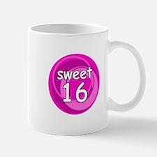 Pink Sweet 16 Small Small Mug