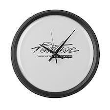Pontiac Large Wall Clock
