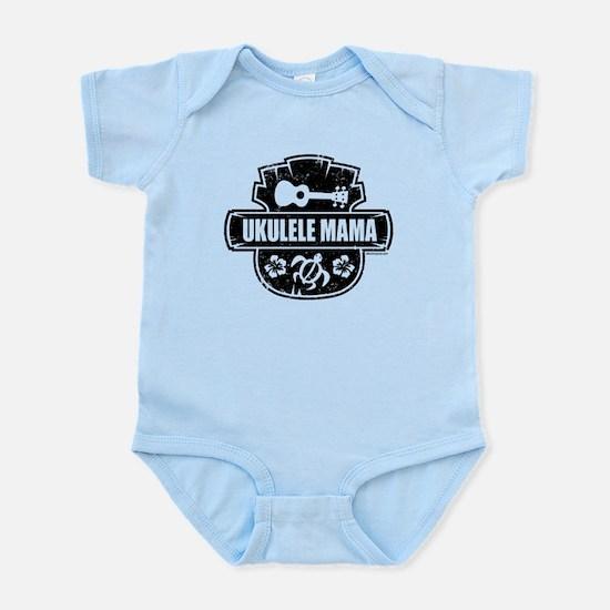 Ukulele Mama Infant Bodysuit