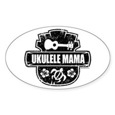 Ukulele Mama Decal