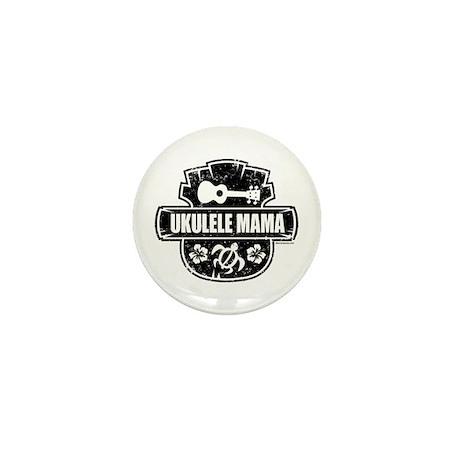 Ukulele Mama Mini Button