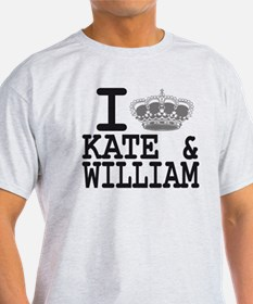 KATE and WILLIAM CROWN T-Shirt