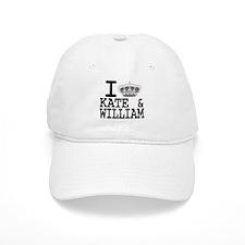 KATE and WILLIAM CROWN Baseball Cap