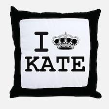 KATE CROWN Throw Pillow