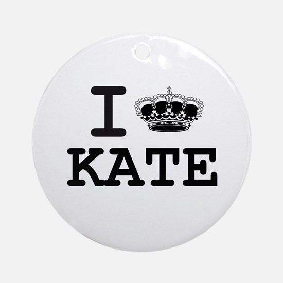 KATE CROWN Ornament (Round)