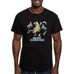 Banana King Men's Fitted T-Shirt (dark)