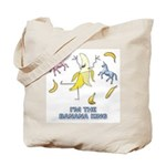 Banana King Tote Bag