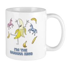 Banana King Small Mug