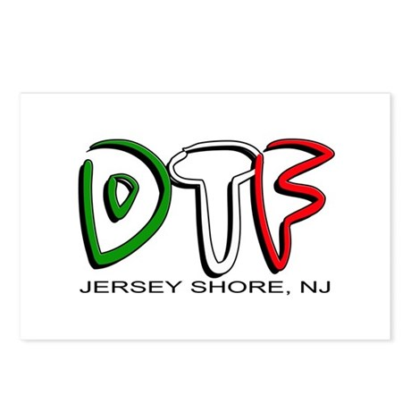 Jersey Shore DTF 1 Postcards (Package of 8)