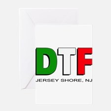 Jersey Shore DTF 3 Greeting Card