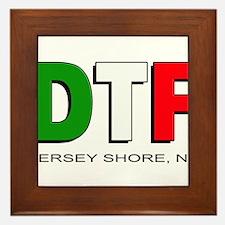 Jersey Shore DTF 3 Framed Tile