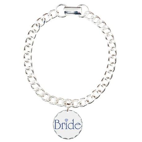 Bride Charm Bracelet, One Charm