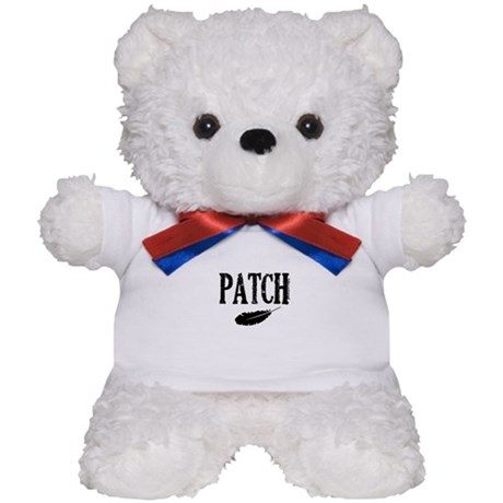 Patch and a feather Teddy Bear