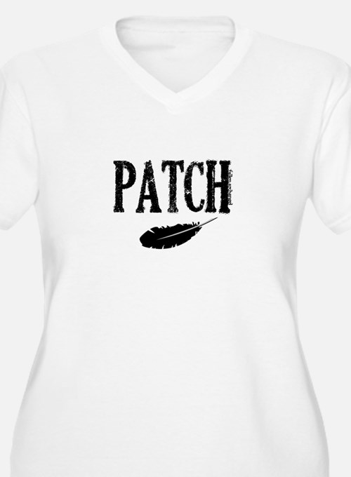 Patch and a feather T-Shirt