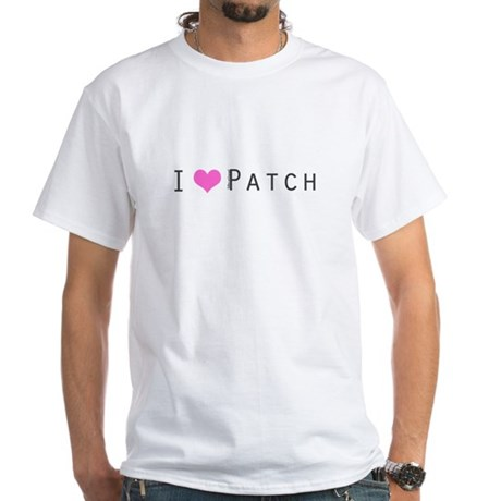 I heart Patch White T-Shirt