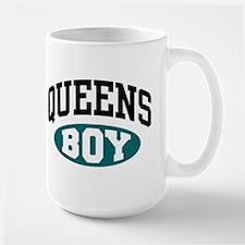 Queens Boy Large Mug