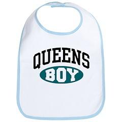 Queens Boy Bib