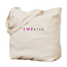 I heart Patch Tote Bag