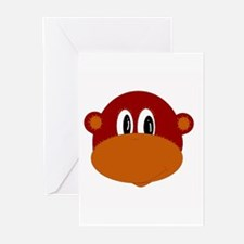 Funny Monkey Greeting Cards (Pk of 10)