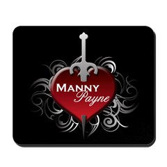 Tribal Heart Mousepad - Manny and Payne