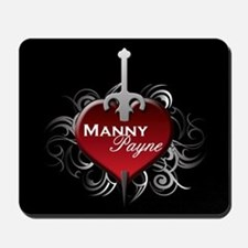 Tribal Heart Mousepad - Manny and Payne