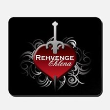 Tribal Heart Mousepad - Rehvenge and Ehlena