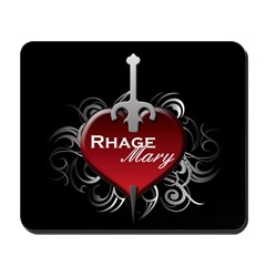 Tribal Heart Mousepad - Rhage and Mary