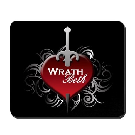 Tribal Heart Mousepad - Wrath and Beth