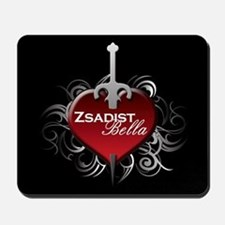 Tribal Heart Mousepad - Zsadist and Bella