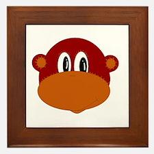 Funny Monkey Framed Tile