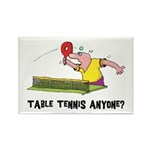 Table Tennis Rectangle Magnet (10 pack)