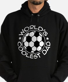 World's Coolest Soccer Dad Hoodie (dark)