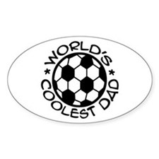 World's Coolest Soccer Dad Decal