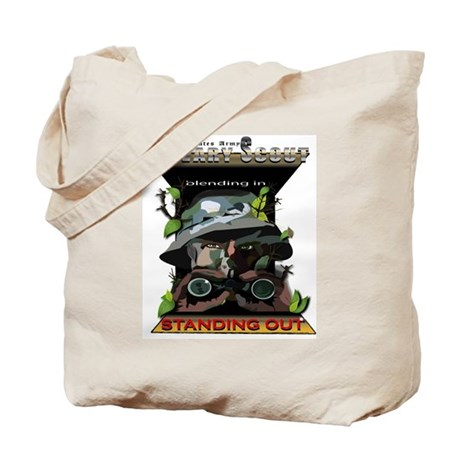 Cav Scout - Standing Out Tote Bag
