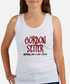 Gordon Setter JUST A DOG Women's Tank Top