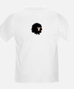 One of These Sheep (Black bk)! Kids T-Shirt