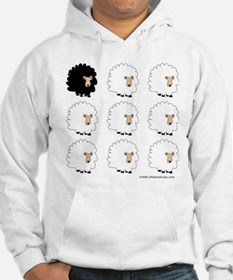 One of These Sheep (White bk)! Hoodie