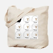 One of These Sheep (White bk)! Tote Bag