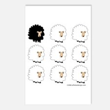 One of These Sheep (White bk)! Postcards (Package
