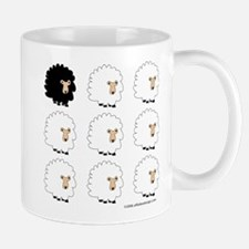One of These Sheep (White bk)! Small Small Mug