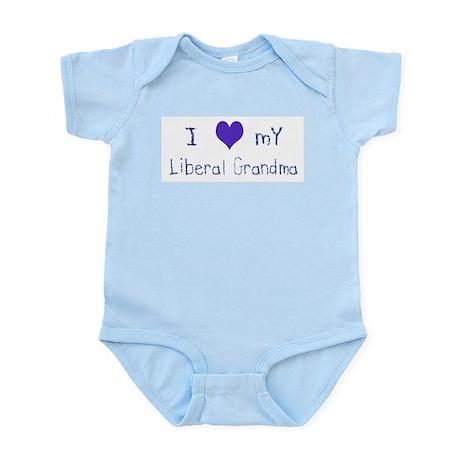 I Love My Liberal Grandma Infant Creeper