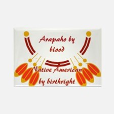 """Arapaho"" Rectangle Magnet"
