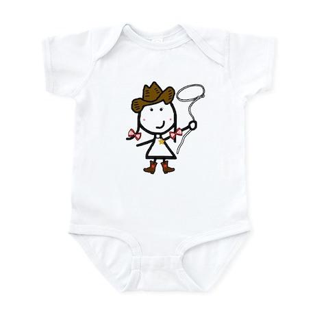Girl & Western Infant Bodysuit