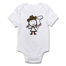 Girl & Western Infant Bodysuit