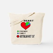 My Heart Friends Family Australian Mist C Tote Bag