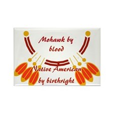 """Mohawk"" Rectangle Magnet"