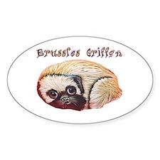 Brussels Griffon Decal