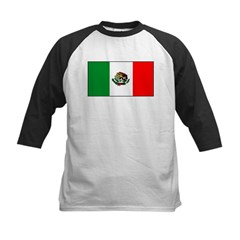 Mexico Mexican Blank Flag Tee